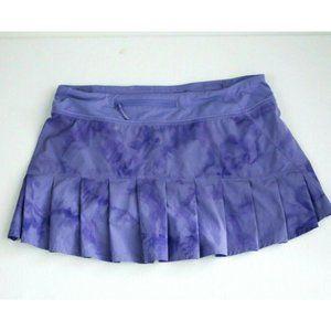 Lululemon Pace Revival Lavender Tie Dye Skirt